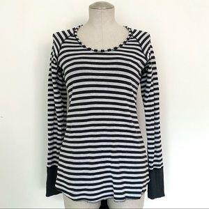 Lululemon Open Your Heart Reversible Shirt Size 6